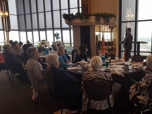 Jeremy Cady speaks to Greater Ozarks Pachyderms