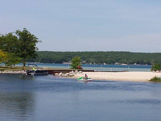 Higgins Lake.
