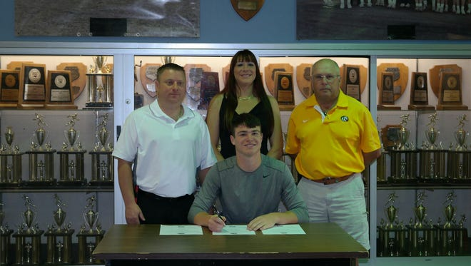 Murphy senior Jacob Clark has signed to play college baseball for Montreat.