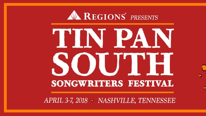 Nashville's Tin Pan South Songwriters Festival is April 3-7.