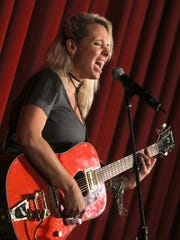 Miss Emily performs at the Paramount Theater Saturday