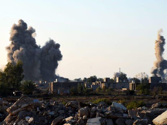 EPA IRAQ RAMADI OFFENSIVE WAR CONFLICTS (GENERAL) IRQ