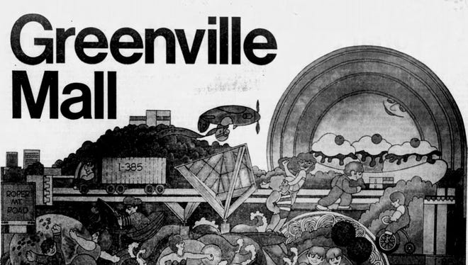 An ad in The Greenville News on Aug. 2, 1978