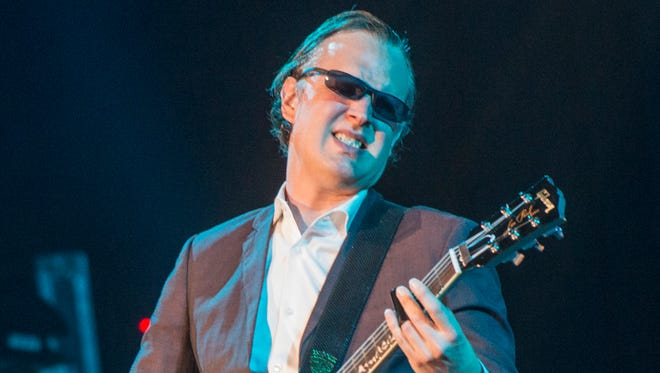 """Joe Bonamassa, shown during a 2017 performance at the Montgomery Performing Arts Centre, has a new movie out called """"Guitar Man."""""""