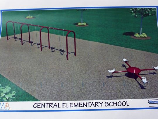 Central Elementary School reached its goal of $15,000