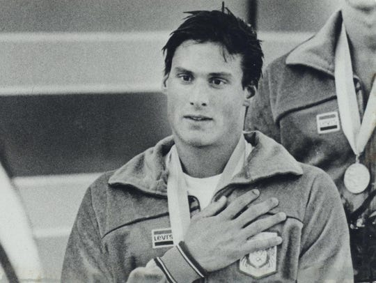 David Wilson won a gold and silver medal in the 1984