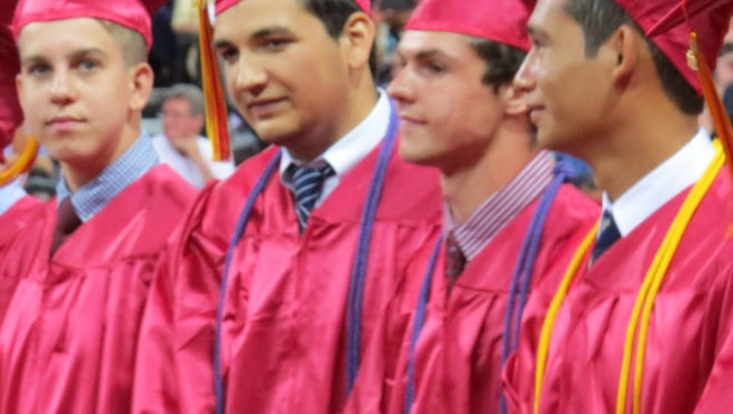 Hillsborough High School held graduation exercises for its Class of 2018 on June 19 at the school.