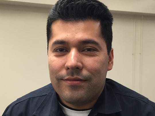 Gerson Cardona, 35, is a member of IMPD's latest recruiting