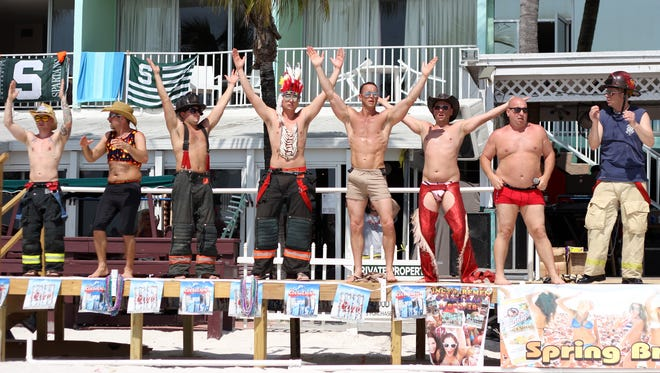 Greater Cincinnati Firefighters Show Group  returns to the Lani Kai Island Resort on Fort Myers Beach on March 6.