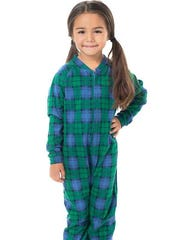 Two styles of children's footed pajamas don't meet