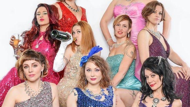 "Whiskey Tango Sideshow will perform Friday at Atlas Bowl's ""The Lebowski Burlesque Bowl."""