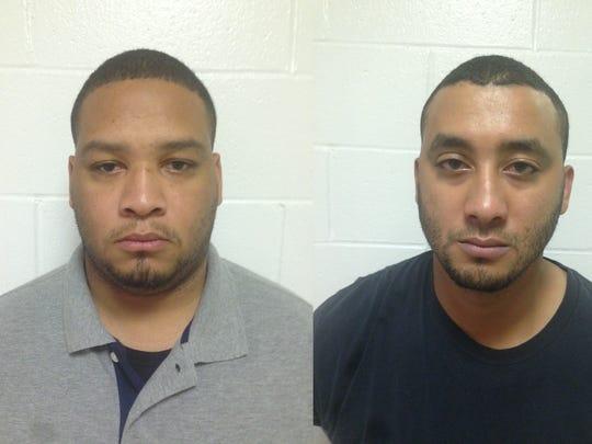 Derrick Stafford (left) and Norris Greenhouse Jr.