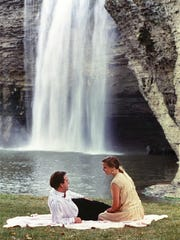 A 1989 city of Rochester promotional photograph made near the base of High Falls.
