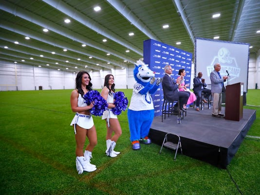 The Indianapolis Colts, the City of Westfield, and Grand Park announced the 2018 Indianapolis Colts Training Camp schedule.