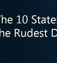 The 10 states with the rudest drivers