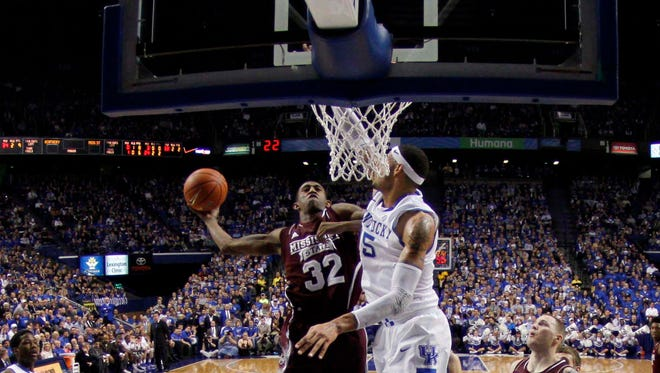 Mississippi State senior Craig Sword has never beaten Kentucky or won at Rupp Arena.