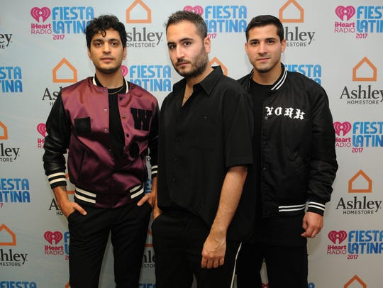 MIAMI, FL - NOVEMBER 04: Reik attends the iHeartRadio