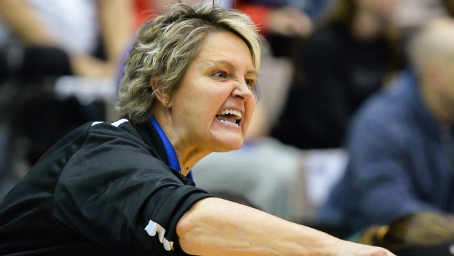 Coach Gina Skelton will be introduced as Wayne County's new coach on Thursday.