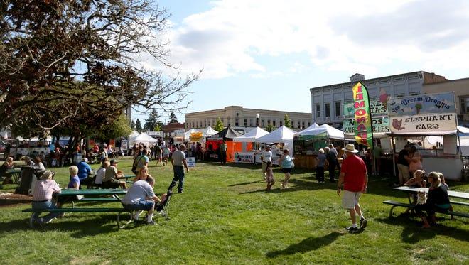"Dallas Summerfest runs July 28-31. This year's event theme is ""Hawaiian Luau."""