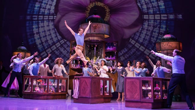 """There's more ballet and less ofGene Kelly's trademark tap in the dance sequences of the Broadway version of """"An American in Paris."""""""