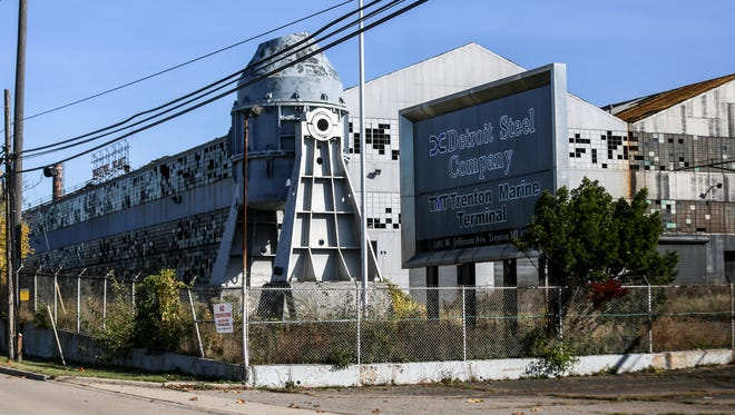 The Detroit Steel Company or the McLouth Steel Company at 1491 W. Jefferson Ave. in Trenton in October 2017.