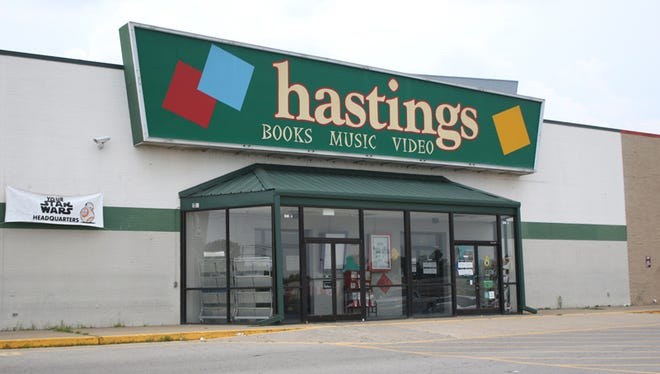 Hastings Entertainment Inc. has announced the closing of all its locations.