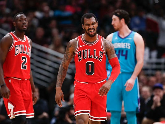 NBA: Charlotte Hornets at Chicago Bulls