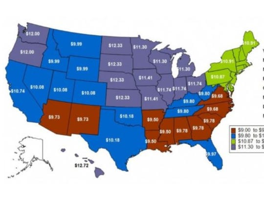 2013 adverse effect wage rate