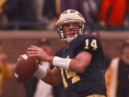 Michigan quarterback Brian Griese.