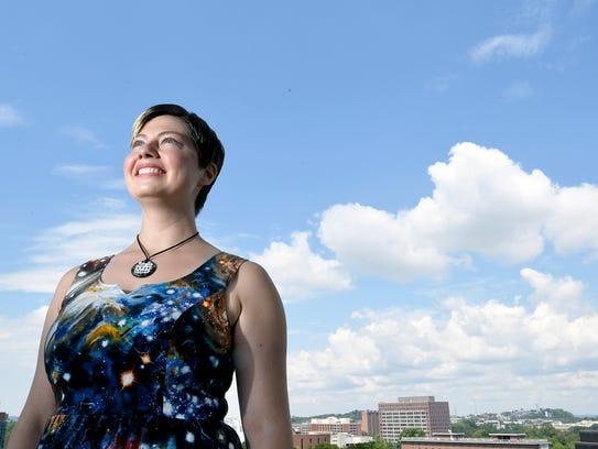 Vanderbilt astrophysicist Natalie Hinkel studies the
