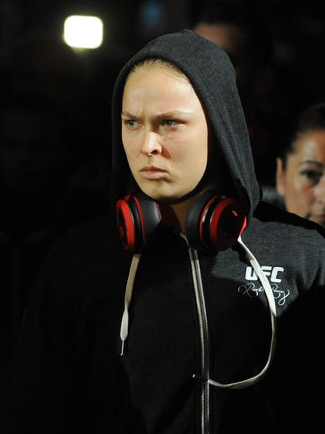 Ronda Rousey is already looking beyond her upcoming
