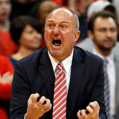 Ohio State coach Thad Matta reacts to a call during