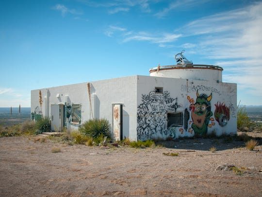 "The unused NMSU Tortugas South Observatory on Tortugas ""A"" Mountain is scheduled for demolition. According to the U.S. Bureau of Land Management NMSU must restore the land after demolition to near the condition the area was in before the construction of the observatory in 1955."