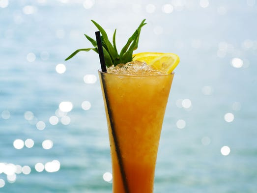 Mondrian south beach serves the serenity swizzle with