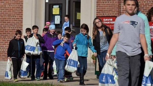 At 96 years, Davis Thayer Elementary School is the oldest school in the Franklin district. Daily News and