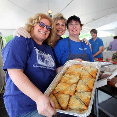 Traditional Greek fare is available at St. Anthony's