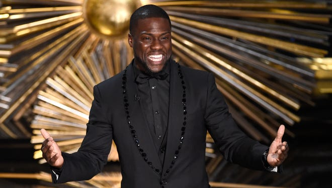 Kevin Hart at the Oscars on Feb. 28, 2016 in Los Angeles.