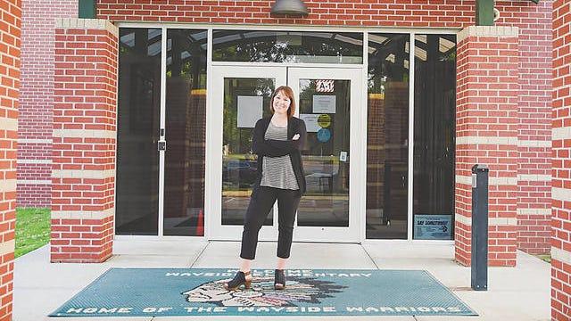 Bartlesville elementary school teacher Heather Boyle received the Oklahoma Education Association's Kate Frank Award for 2020. E-E file/Heather Boyle