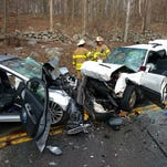 Route 9: Three injured in head-on crash in Philipstown