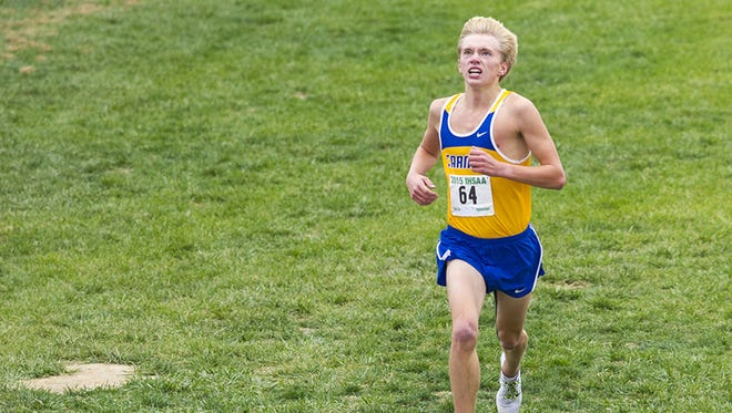 Carmel runner Ben Veatch