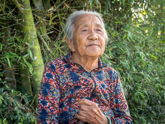 Cao Thi Do, 80, lost two children during the My Lai