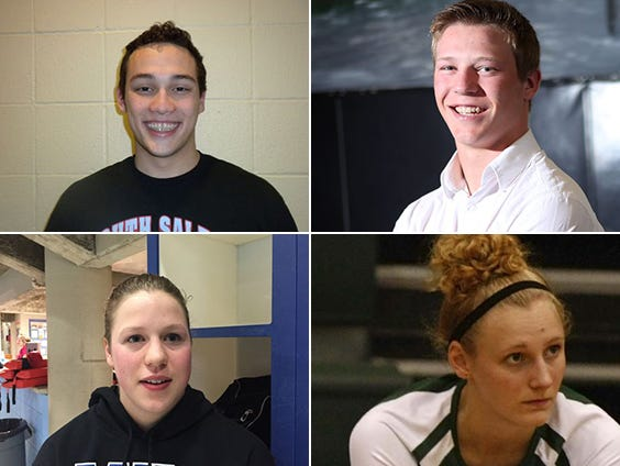 Candidates for Athlete of the Week are Noah Cutting of South Salem swimming, Spencer Crawford of Cascade wrestling, Marissa Kuch of McNary swimming and Monica Webb of Regis basketball.