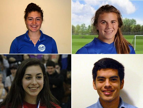 Candidates for Athlete of the Week are Vanessa Hayes of McNary volleyball, Emily Collier of Blanchet soccer, Lakin Susee of Kennedy volleyball and Gustavo Villalvazo, McNary soccer and football.