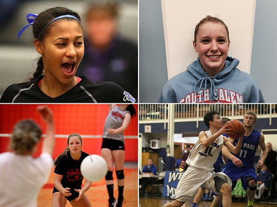 Candidates for Athlete of the Week.