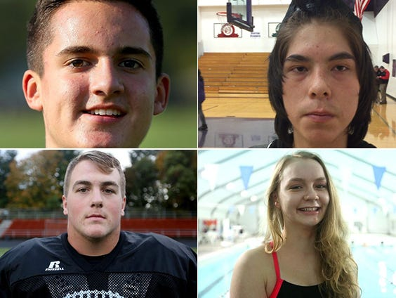 Candidates for the SJ Athlete of the Week.