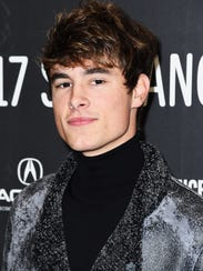 Kian Lawley at 2017 Sundance Film Festival in January