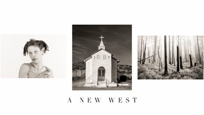 Pictured is Hemphill's selected photography work titled A New West.