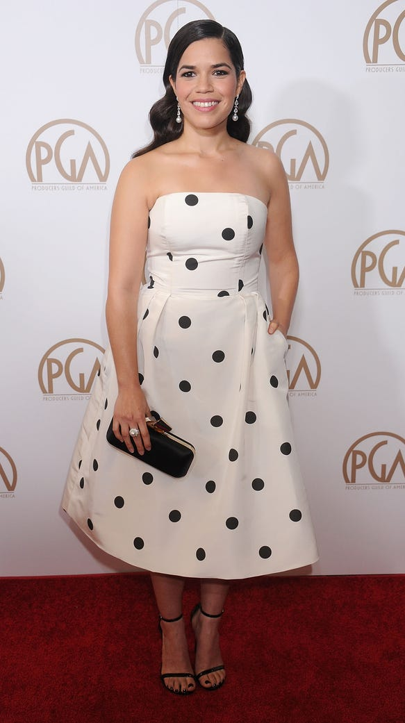 Actress America Ferrera arrives at the 27th Annual