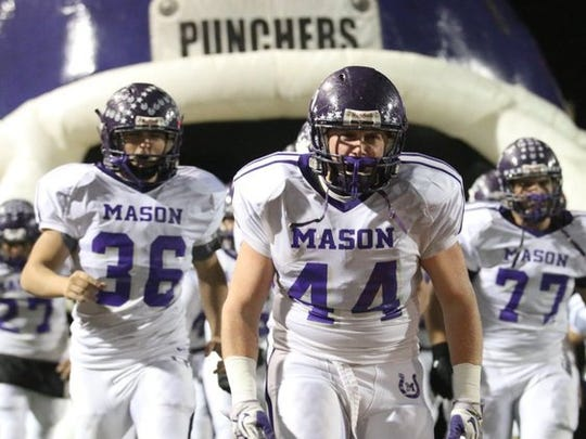 The Mason Punchers are a Class 2A football team with two radio stations covering their games.