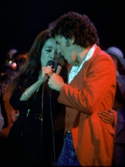 Ronnie Spector duets with Bruce Springsteen at Monmouth